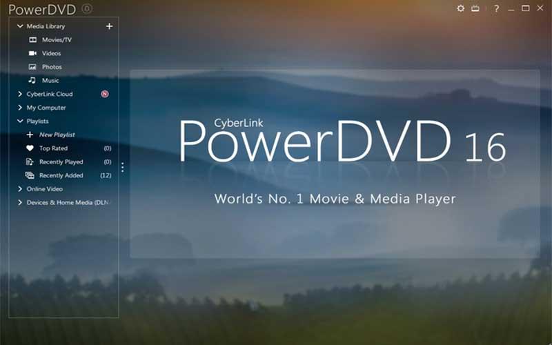สุดยอดโปรแกรมดูภาพยนตร์ PowerDVD
